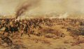 Showing from inside the square, the 1st York and Lancs and the 1st Black Watch as the Hadenoa attack, 13th March 1884. ......