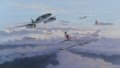 Major Rudolf Rudi Sinner of STAB.III/JG7 attacking B-17s of 91st Bomb Group during March 1945. Attacking in a Kette of three aircraft from behind and below targeting the tailenders and rising over the B-17s. Avoiding any debris and evading the incom......