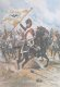 DHM126.  Prize J Un Drapeau Prussian Par Le 4th Regiment De Dragons En 1806 by Edouard Detaille. ......