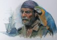 Captain Charles Vane was born in 1680, and was an English pirate who preyed upon English and French shipping.  Vane began piracy in 1716 and lasted 3 years. Vane captured a Barbados sloop and then a large 12-gun brigantine, which he renamed the Ranger.   Vane was among the pirate captains who operated out of the Bohama at the notorious base at New Providence after the colony had been abandoned by the British.  His pirate attacks made Captain Charles Vane well known to the Royal Navy and in February of 1718 Vincent Pearse, commander of HMS Phoenix cornered Vane on his ship the Lark.  Vane  had heard of the recent royal pardons that had been offered to pirates in exchange for a guarantee they would quit plundering, so Vane claimed he had actually been en route to surrender to Pearse and accepted the pardon on the spot,  Charle Vane gained his freedom but as soon as he was free of Pearse he ignored the pardon and resumed his pirate ways.  Charles Vane was again captured and in 1721 was executed by hanging at Gallows Point, Port Royal, Jamaica on March 29th 1721.