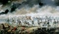 The Royal Artillery in Action on 18th June 1815.
