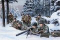 Vielsalm, Belgium, 22nd December 1944.  Men of the 508th PIR, along with the rest of the 82nd Airborne Division were rushed to the Ardennes and deployed in an attempt to halt the onslaught of 6th SS Panzer Army, specifically Kampfgruppe Peiper.