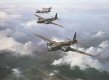 Published in 1980 this rare art print shows Wellingtons of 425 Squadron RCAF,  with the aircraft  KW - E and KW - N clearly shown.  This superb prints carry the rare original signature of  FLt/Lt Townsend who passed away in April 1991.  These were th......