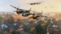 June 1944, dawn is breaking over a sleepy English village, and P-38 Lightnings shatter the silence as they climb out from a nearby air base, en route to the Normandy beach heads. ......