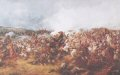 DHM424.  G Battery, Royal Horse Artillery, Waterloo 18th June 1815 by Major T.S. Seccombe. ......