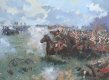DHM605.  Charge of the Russian Cuirassiers at Borodino by Jim Lancia.