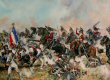The 6th Inniskillings were part of the Union Brigade of Heavy Cavalry alongside the 1st Dragoons (Royals) and 2nd Dragoons (Scots Greys) and commanded by General Ponsonby. At a critical point in the battle, at 2.00 pm, the two brigades of Heavy Caval......