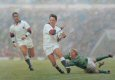 Twickenham, March 16th 1996.  England return to the running game to clinch victory in style over Ireland and retain the Five Nations Championship.