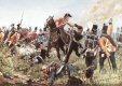 Depicting Colonel Hugh Halkett and the German Landwehr battalion Osnabruck capturing General Cambronne. ......