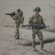 Helmand province, Afghanistan, Operation HERRICK 17. ......