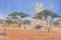 DHM683.  Alouette III Helicopter of Rhodesian Fireforce 1979 by John Wynne Hopkins. ......