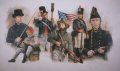 DHM0709PC. Men of the United States Navy During the Battle of Lake Erie 1813 by Chris Collingwood. ......