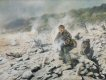 Lance Corporal Mel Townsend, 22 SAS, in action in Dhofar, 6th January, 1975, for which he was awarded the DCM.  Mel Townsend, of the Royal Corps of Signals, was a member of a squadron of the 22nd SAS Regiment controlling Arab Irregulars in support o......