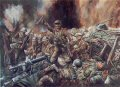 GDHM3017GL. Lance Sergeant Fred McNess VC, Scots Guards in Action Near Gincy, France 15th September 1916 By David Rowlands.
