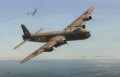 On the 10th of June 1941 en route to Emden, Stirling MG-D of No.7 Sqn was intercepted by two Me-109s.  The aircraft piloted by Flying Officer G B Blacklock DFM returned safely to base after shooting down one of the fighters. ......
