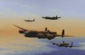 Lancaster, Halifax, Stirling and Mosquito of Bomber Command. ......