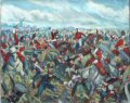 MARK2. Original Oil Study of the Union Brigade painting by Mark Churms.