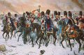 Surrounded by the enemy and cut off from their comrades, a handful of the Emperor Napoleons French Grenadiers choose to attack, against all odds, rather than face the dishonor of surrender!  ......