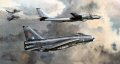 No.5 Sqn and No.11 Sqn Lightnings intercept a Tu-95 Bear, supported by an essential Victor tanker.  QRA, day and night, 24hrs a day, 7 days a week 52 weeks a year, 365 days a year - never a day off, always ready!  Over and over again for so many yea......