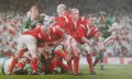 The Welsh Six Nations Grand Slam of 2005 is completed as Wales beat Ireland in their final game. <br>Results : Cardiff, 5th February : Wales 11 - 9 England<br>Rome, 12th February : Italy 8 - 38 Wales<br>Paris, 26th February : France 18 - 24 Wales<br>Edinburgh, 13th March : Scotland 22 - 46 Wales<br>Cardiff, 19th March : Wales 32 - 20 Ireland.