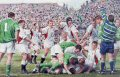 On three occasions since their last Grand Slam in 1995 the England team had come within a whisker of completing another dream.  During this important build up towards the world cup England finally laid their ghost to rest.  After six years under the guidance of Head Coach Clive Woodward England, having beaten the big three from the Southern Hemisphere in a back-to-back series of matches at Twickenham, reached number one in the Zurich world ranking.  This Grand Slam, a wonderful achievement in itself, underlined Englands worldwide dominance.