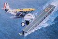Although the US Navy had been an early leader in supporting naval aviation, during WW I the Navy had emphasized float planes, and with the end of the War, America found itself well behind the British who had several aircraft carriers in service. In ......