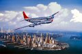 The Boeing Model 377 Stratocruiser was the commercial version of Boeings C-97 military transport. The first 377 was test flown on July 8, 1947. Stratocruisers were delivered to airlines in 1949 and 1950. Pan American, Northwest Orient, BOAC, United,......