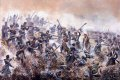 The battle of Inkerman, during the Crimean War, British and French victory over the Russian Empire.