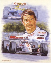 Mansell by Peter Deighan.