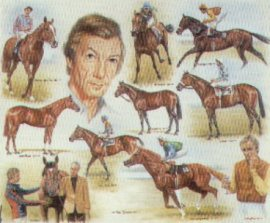 Lester Piggott's Derby Winners by Peter Deighan