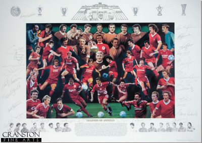 Legends of Anfield by Robert Highton.