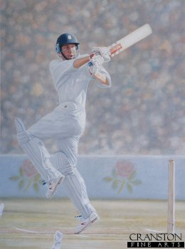 Michael Atherton by Keith Fearon.