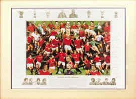 Legends of Old Trafford - Gold by Robert Highton.