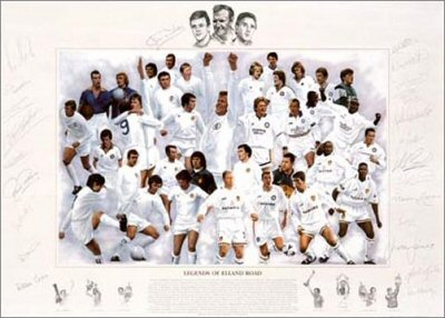 Legends of Elland Road - Silver by Simon Smith.