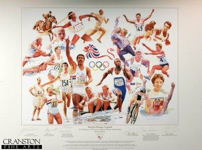 British Olympic Legends by Gary Keane