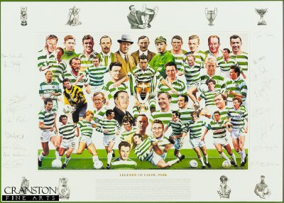 Legends of Celtic Park - Gold by Robert Highton.