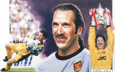 David Seaman by Robert Highton.