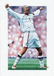 David Beckham by Robert Highton.