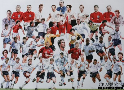 Legends of English Football by Robert Highton.