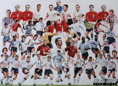 Legends of English Football by Robert Highton.