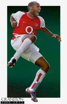 Thierry Henry by Robert Highton.