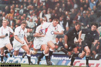 England versus New Zealand - Investec 2002 by Doug Harker. (Y)