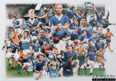 Heroes of Goodison Park by Doug Harker.