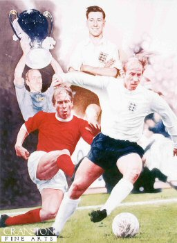Sir Bobby Charlton by Gary Keane. (Y)