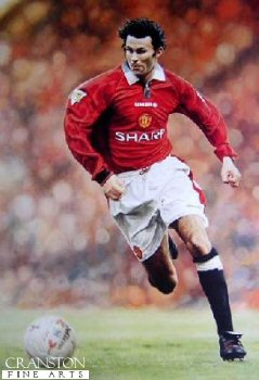 Ryan Giggs by Keith Fearon.