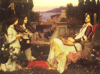 Saint Cecilia by John William Waterhouse