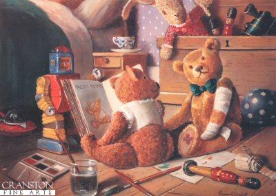 Teddies Playroom II by Raymond Campbell