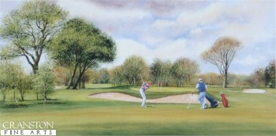 Sunday Golf by Terry Harrison.