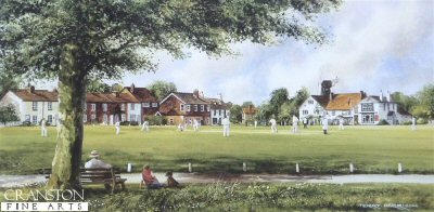 Sunday Cricket by Terry Harrison.