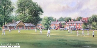 The Cricketers by Terry Harrison.